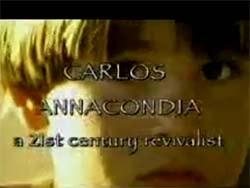 Карлос Анакондиа — Пробуждение в Аргентине