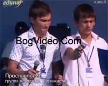 Группа прославления из Таджикистана