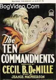 Десять Заповедей. The Ten Commandments 1923