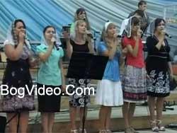 Малин 2011 — Херсонський хор — Співатиму Боже тобі завжди