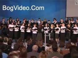 Церковный хор — Святый Боже