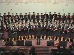 Ночь настаёт (молодежный хор)