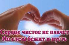 Сердце чистое не плачет (Раскрутились часы)