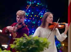 The Donicas — Carol of the Bells, Violin Duet