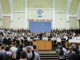 Молодіжний хор — Ти простягаєш небо, як тканину!