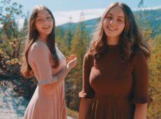 Юля и Алина Галушкины — Я буду петь Тебе